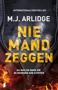 M.J. Arlidge - Niemand zeggen - productie@2.indd